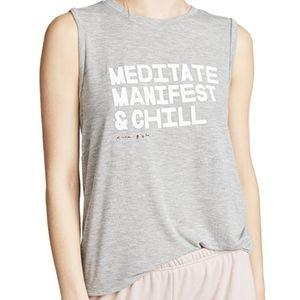 Spiritual Gangster Meditate Chakra Tank Top